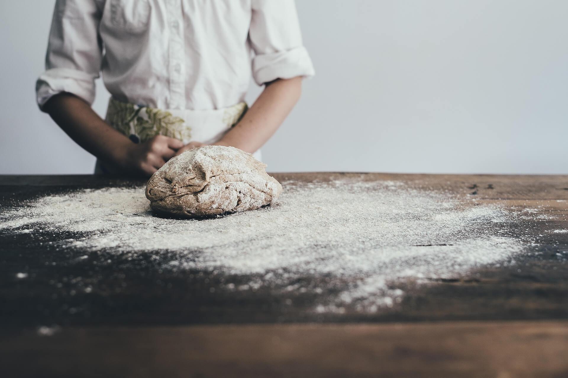 Obrador en panadería y pastelería